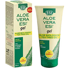 Aloe Vera Biologica Gel con Vitamina E e Tea Tree Oil