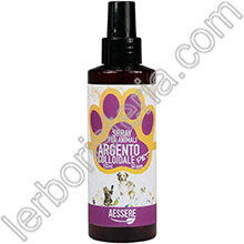 Argento Colloidale Pet 50 ppm Spray per Animali