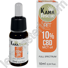Kanarescue Pet 10% CBD MCT Oil