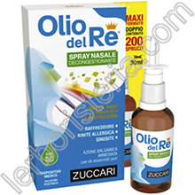 Olio del Re Spray Nasale Decongestionante