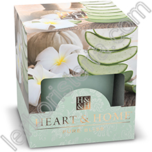 Heart & Home Candela Aloe Rigenerante Small