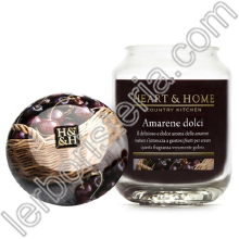 Heart & Home Candela Amarene Dolci Big