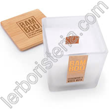 Heart & Home Bamboo Candela Cedarwood & White Musk Regular