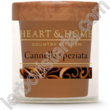 Heart & Home Candela Cannella Speziata Small