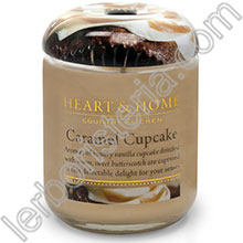Heart & Home Candela Cupcake al Caramello Big
