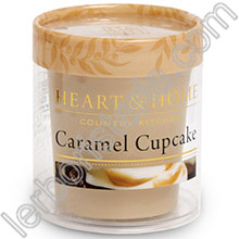 Heart & Home Candela Cupcake al Caramello Small