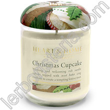 Heart & Home Candela Cupcake di Natale Big