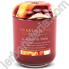 Heart & Home Candela Coccole di Mele Big