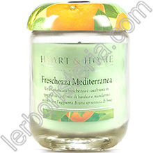 Heart & Home Candela Freschezza Mediterranea Big