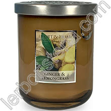 Heart & Home Candela Ginger & Lemongrass Big