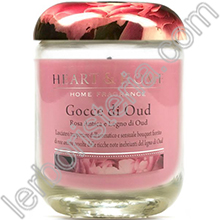 Heart & Home Candela Gocce di Oud Big