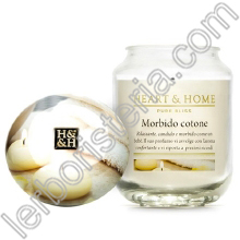 Heart & Home Candela Morbido Cotone Big