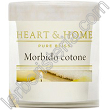 Heart & Home Candela Morbido Cotone Small