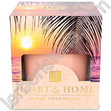 Heart & Home Candela Paradise Sunset Small
