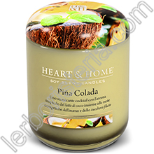 Heart & Home Candela Piña Colada Big