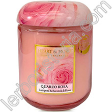 Heart & Home Candela Quarzo Rosa Medium