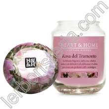 Heart & Home Candela Rosa del Tramonto Big