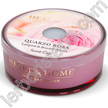 Heart & Home Candela Quarzo Rosa Scent Cup
