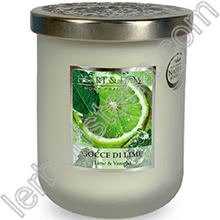 Heart & Home Candela Gocce di Lime Big