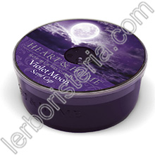 Heart & Home Candela Violet Moon Scent Cup