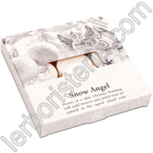 Heart & Home Candeline Tealights Angelo della Neve