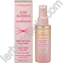 Acido Ialuronico Luce & Volume Spray Bifasico Millevirtù