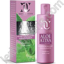 Aloe Attiva Shampoo Balsamo Disciplinante Capelli Ricci 1c84fe7c61a2