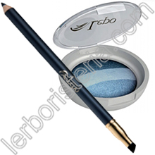 Blue Eyes Kajal Bio + Magie di Blu Ombretto Trio Wet & Dry