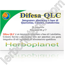 Difesa QLC Quercitina Lattoferrina Colostro