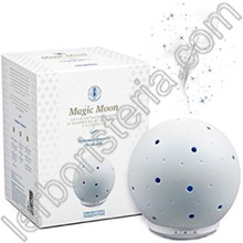 Magic Moon Diffusore di Essenze a Ultrasuoni con Cromoterapia