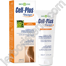 Cell-Plus Corpo Perfetto Crema Gel Crio Drenante con Acido Ialuronico 3