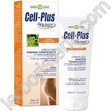 Cell-Plus Corpo Perfetto Crema Gel Fredda Tonificante con Acido Ialuronico 3