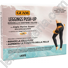 Leggings Push-Up con Alghe Guam e FIR Taglia L/XL 46-50