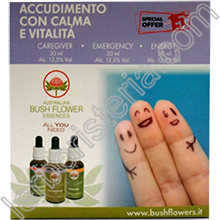 Australian Bush Flower Essences Box Accudimento con Calma e Vitalità
