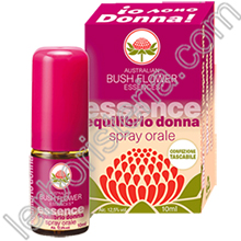 Australian Bush Flower Essences Equilibrio Donna Spray Orale Mini