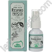 Oral Care Spray Alito Respiro Fresco
