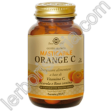 Orange C Masticabile - Vitamina C 500 mg