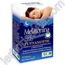 Melatonina Phytodream TuttaNotte Retard