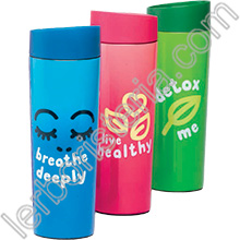 Start-Up Thermos Click-and-Drink Rosa