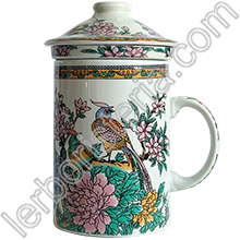 Tisaniera Old China Pavoni